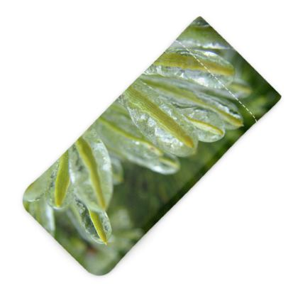 Icy Pines Glasses Case Pouch
