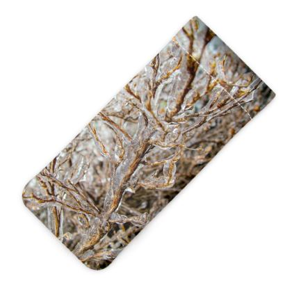 Icy Branches Glasses Case Pouch