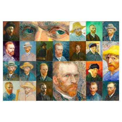Portraits of Vincent Zip Top Handbag