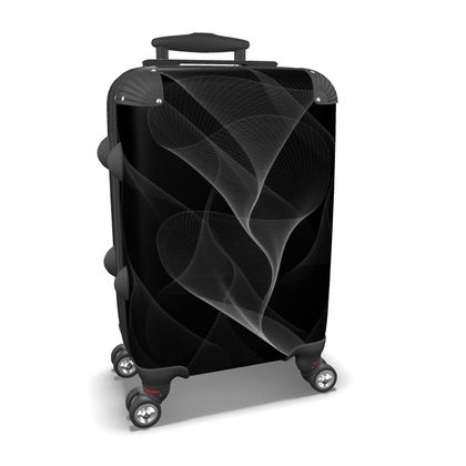 BLACK AND WHITE FLUX - Suitcase