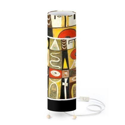 Gottlieb Abstract Art Standing Lamp