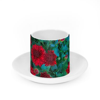 Red Mums Cup