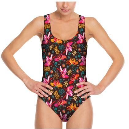Tropical flower Swimsuit