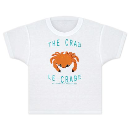 "Kids T Shirts ""Le Crabe"""