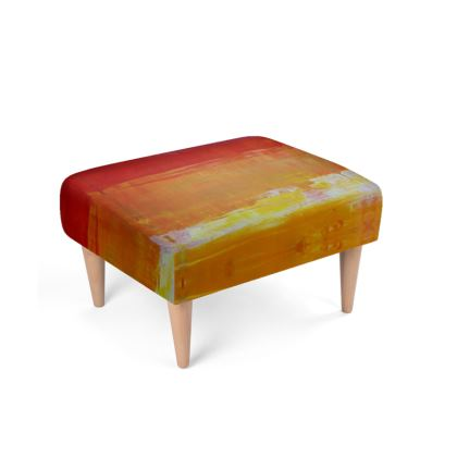 Amarillo Moments Footstool