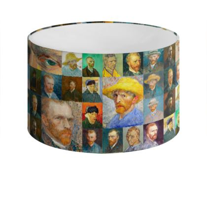 Portraits of Vincent Drum Lamp Shade