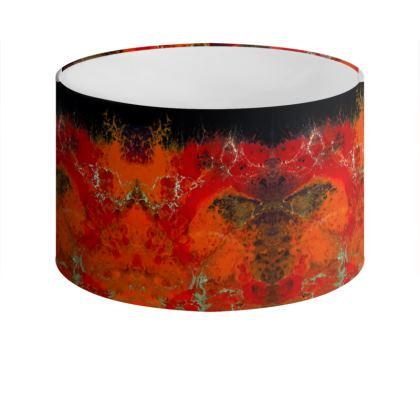 Royal Red Lamp Shade