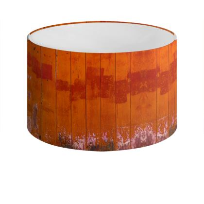 Red Barn Drum Lamp Shade