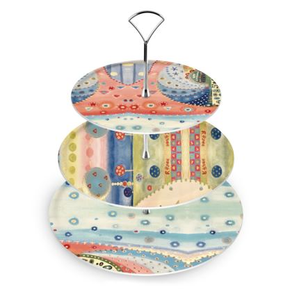 MUELLE UNO Cake Stand by Rachel Rosa ART