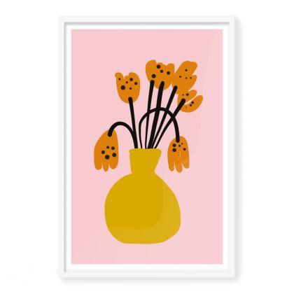 Flowers Framed Art Prints