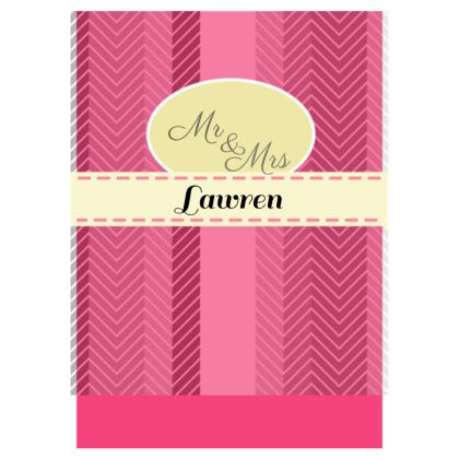 Mr & Mrs Double Deckchair - stripes