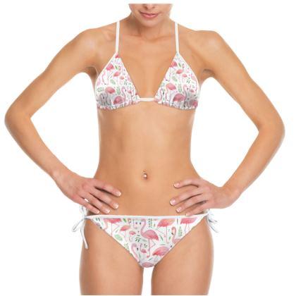 Pink Flamingo Bikini