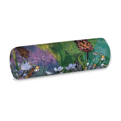 'Over Shadowed Thistle' Big Bolster Cushion