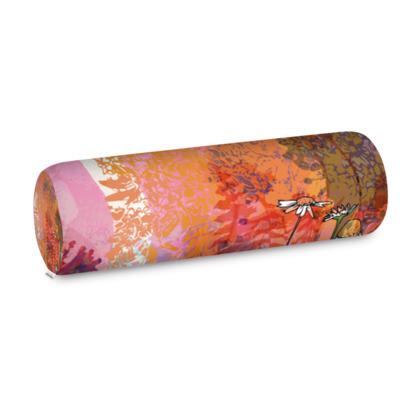 'Heat of the Day' Big Bolster Cushion
