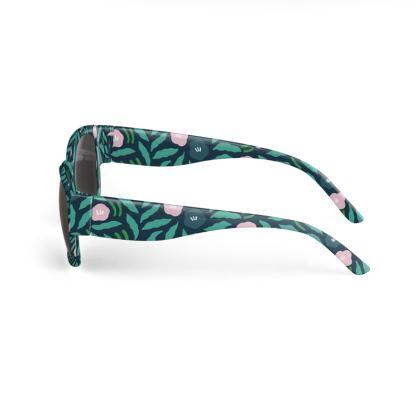 Free Flow Flowers (jungle green) Sunglasses