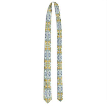 102,- Krawatte, small tie, 60 mm elegant ninibing34 DESIGN Limon