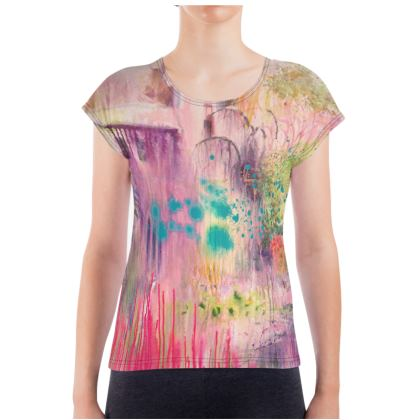 Ladies T Shirt - Where Memories Linger