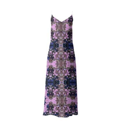 Pink Drop Long Slip Dress
