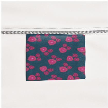 Magenta Floral Slip Dress