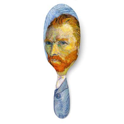 Portrait of Vincent Hairbrush #2 Large