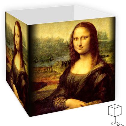 Leonardo's Mona Lisa Square Lamp Shade
