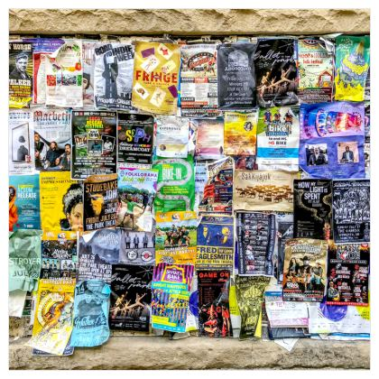 Poster Wall Roller Blinds