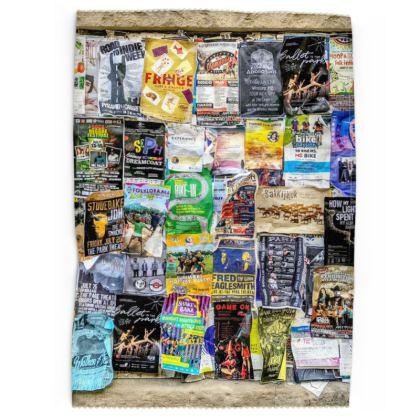 Poster Wall Tea Towels