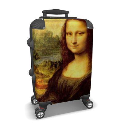 Mona Lisa Suitcase