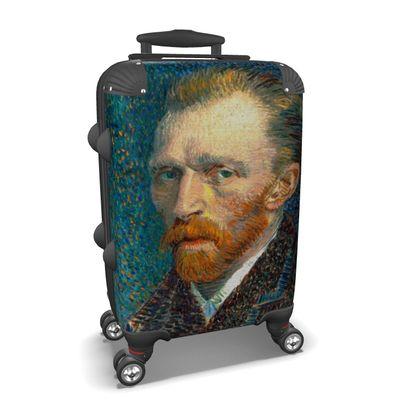 Self Portrait of Vincent Suitcase
