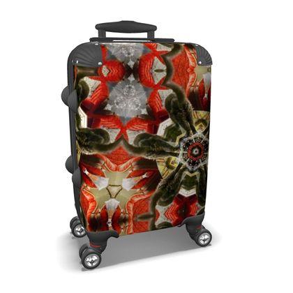 Kaleidoscope Cat Suitcase
