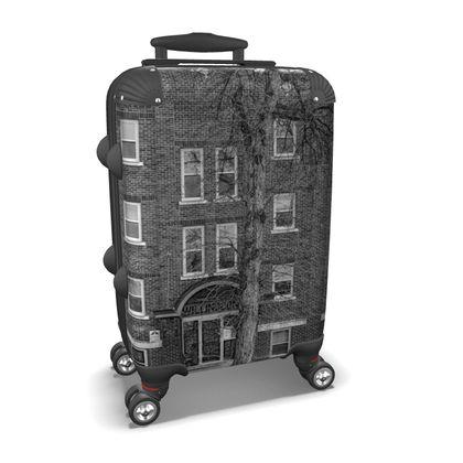 Vintage Building Suitcase