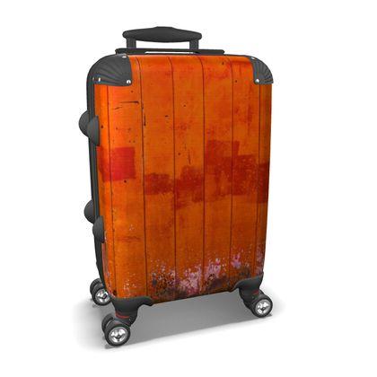 Red Barn Door Suitcase