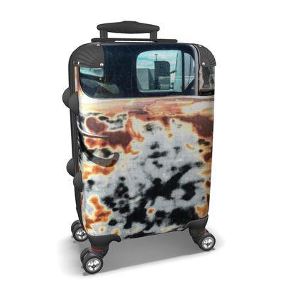 Vintage Rusty Vehicle Door Suitcase