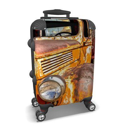 Vintage Rusty Vehicle Suitcase