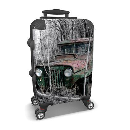 Vintage Jeep #2 Suitcase
