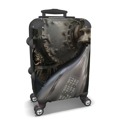 Vintage Aviation Propeller Suitcase