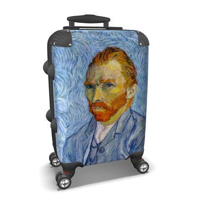 Self Portrait of Vincent Blue Suitcase