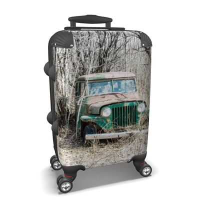 Vintage Jeep #1 Suitcase