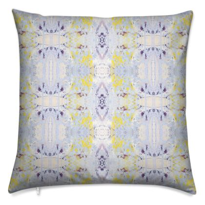 Grey Butterfly Cushion