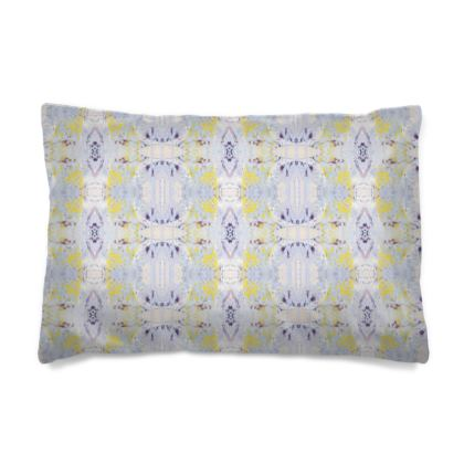 Grey Butterfly Pillow Case