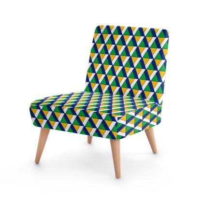 Top Triangle Occasional Chair
