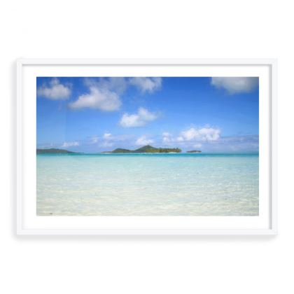 Framed Art Prints - dreamy pacific colours.
