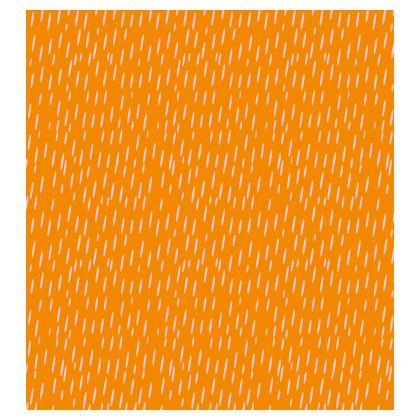 Raining Opportunities Long Slip Dress in Orange