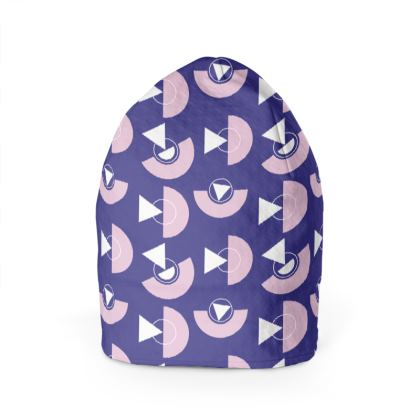 Playground Beanie in Violet