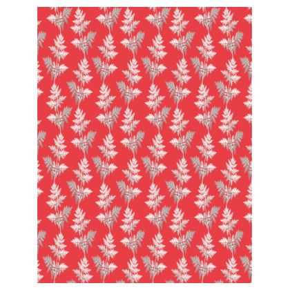 Forest Fern Trays in Regal Red