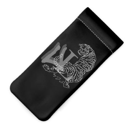 Urban Luxury Logo Glasses Case Pouch Designed by J S.