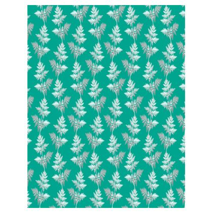 Forest Fern Trays in Jade Green