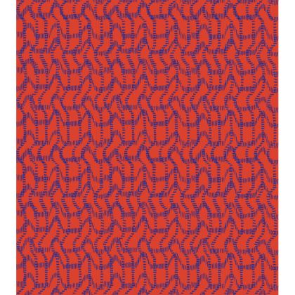Wriggly Bits Tray in Red