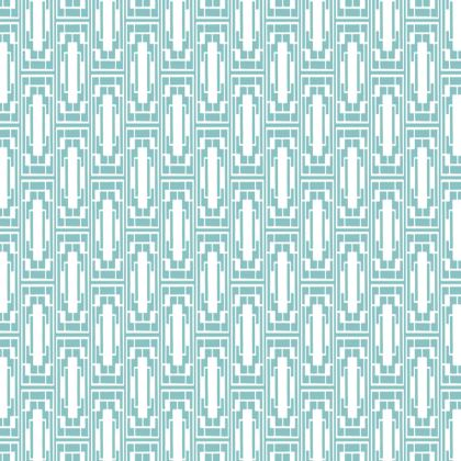China Girl Tray in Light Petrol