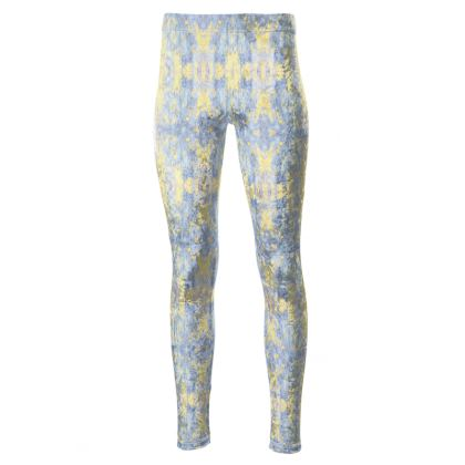 Wooden Dance High Waisted Leggings